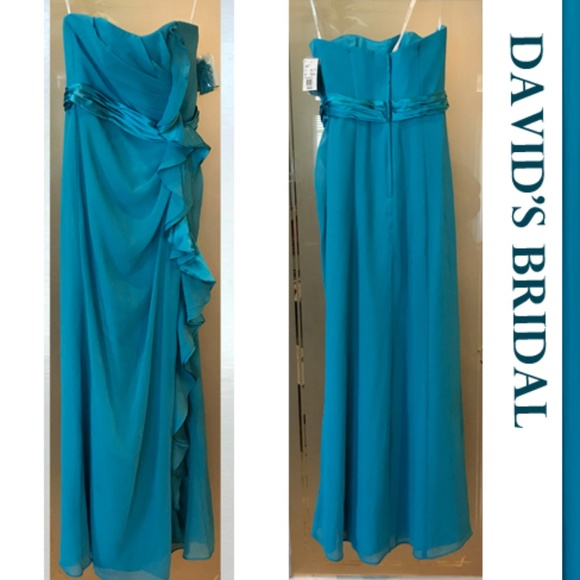 David S Bridal Malibu Bridesmaid Dress Size 6 Nwt